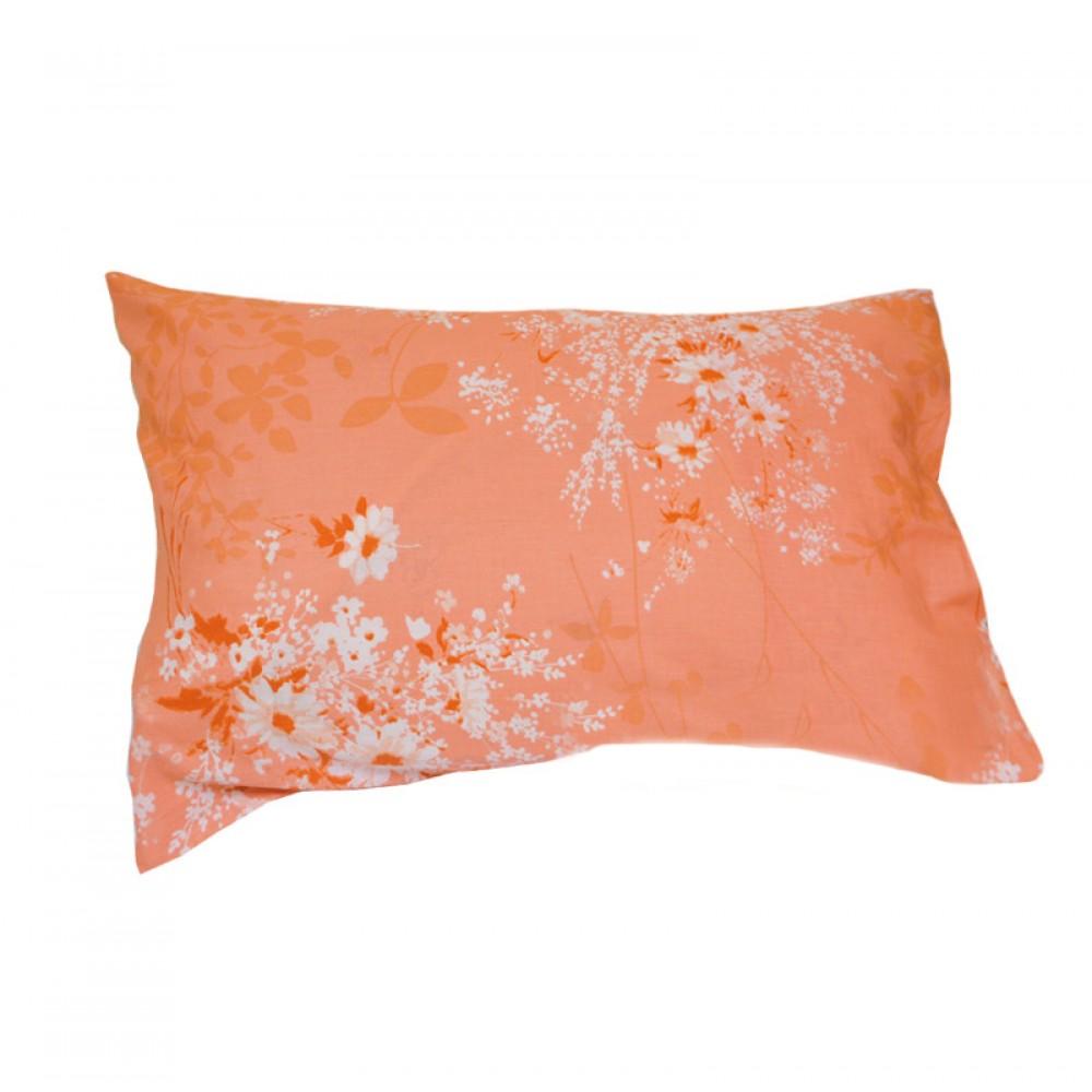 Комплект наволочек поплин SoundSleep Autumn bouquet L-1585-5 красный 70х70 см