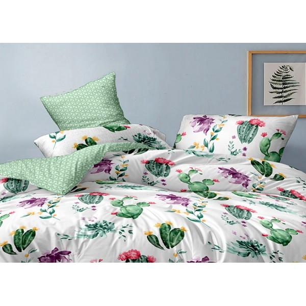 Комплект наволочек из сатина Сactus blooms SoundSleep 50х70 см