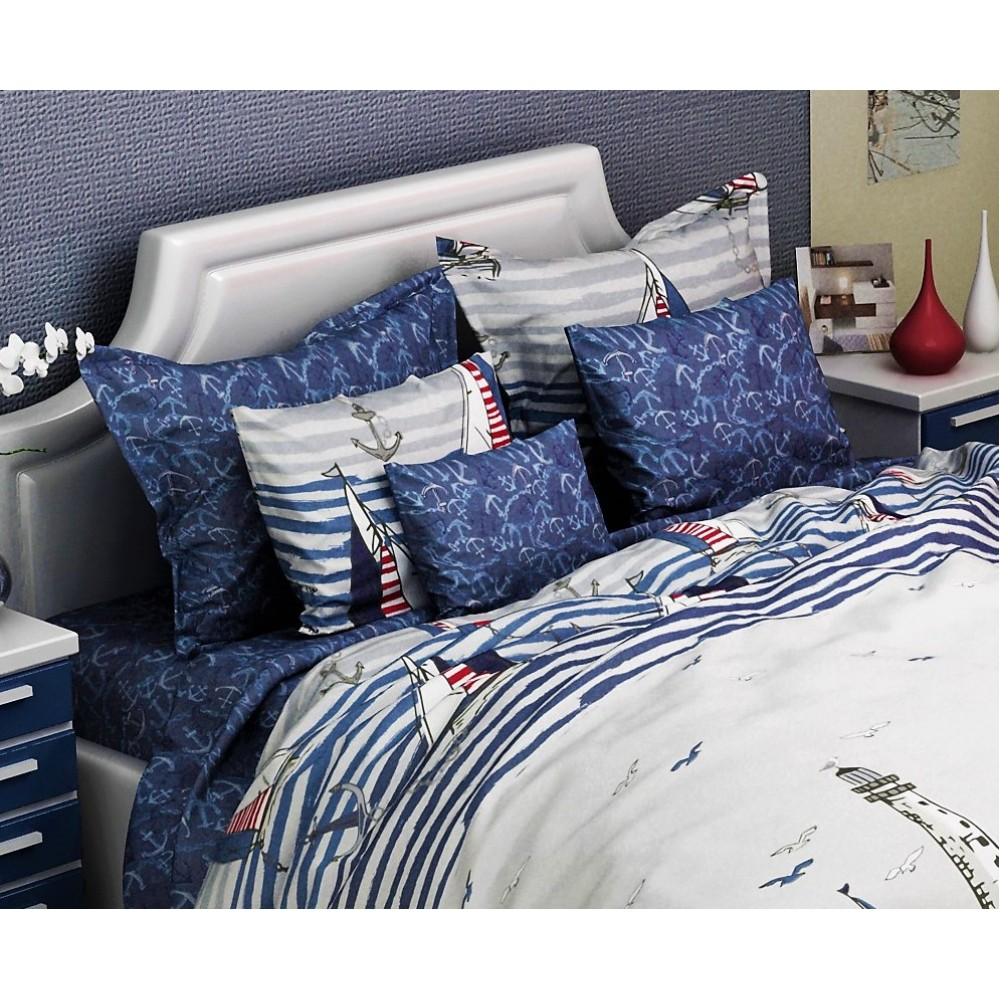 Комплект наволочек Blue Sail SoundSleep ранфорс 70х70 см