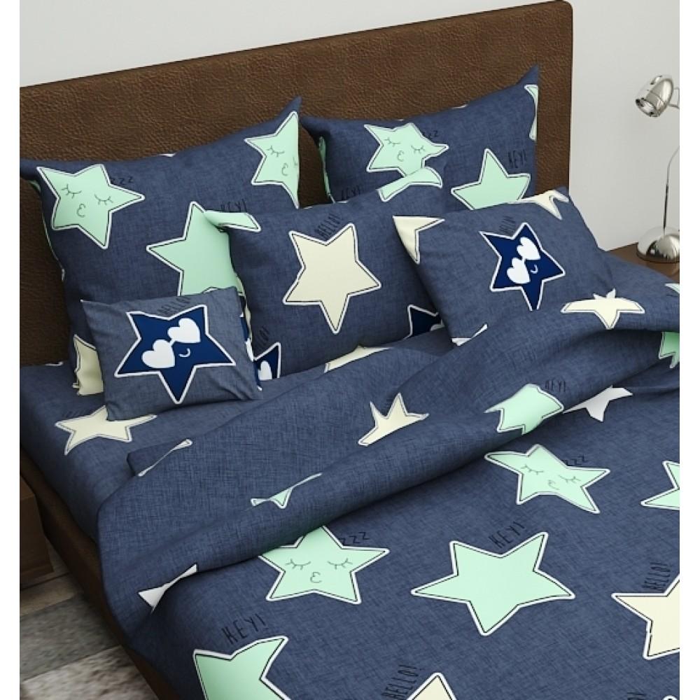 Комплект наволочек Night Stars SoundSleep бязь 50х70 см