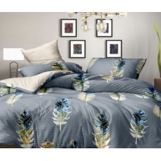 Pillowcase set Bird feather SoundSleep coarse calico 50x70 cm