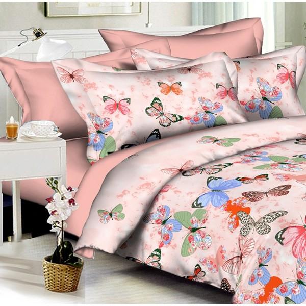 Комплект наволочек Colorful butterflies SoundSleep полисатин 50х70 см