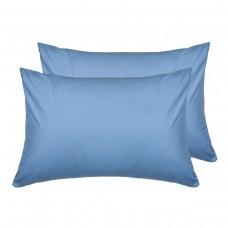 Комплект наволочек SoundSleep ранфорс 50х70 см голубой 143Blue