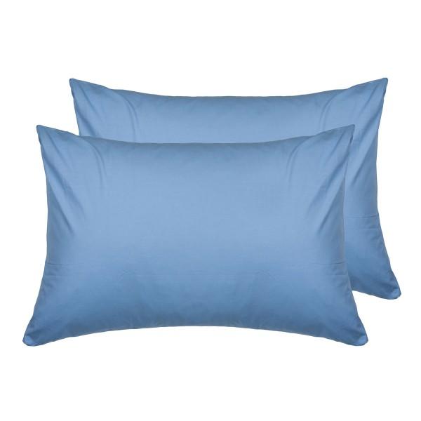 Комплект наволочек SoundSleep ранфорс 70х70 см голубой 143Blue