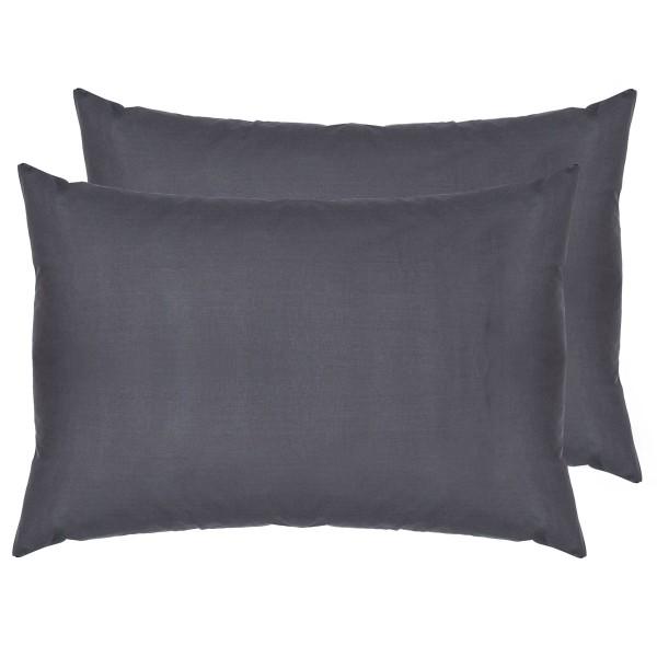 Комплект наволочек SoundSleep ранфорс 70х70 см серый dark gray148
