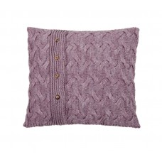 Knitted pillowcase SoundSleep Varanasi light lilac