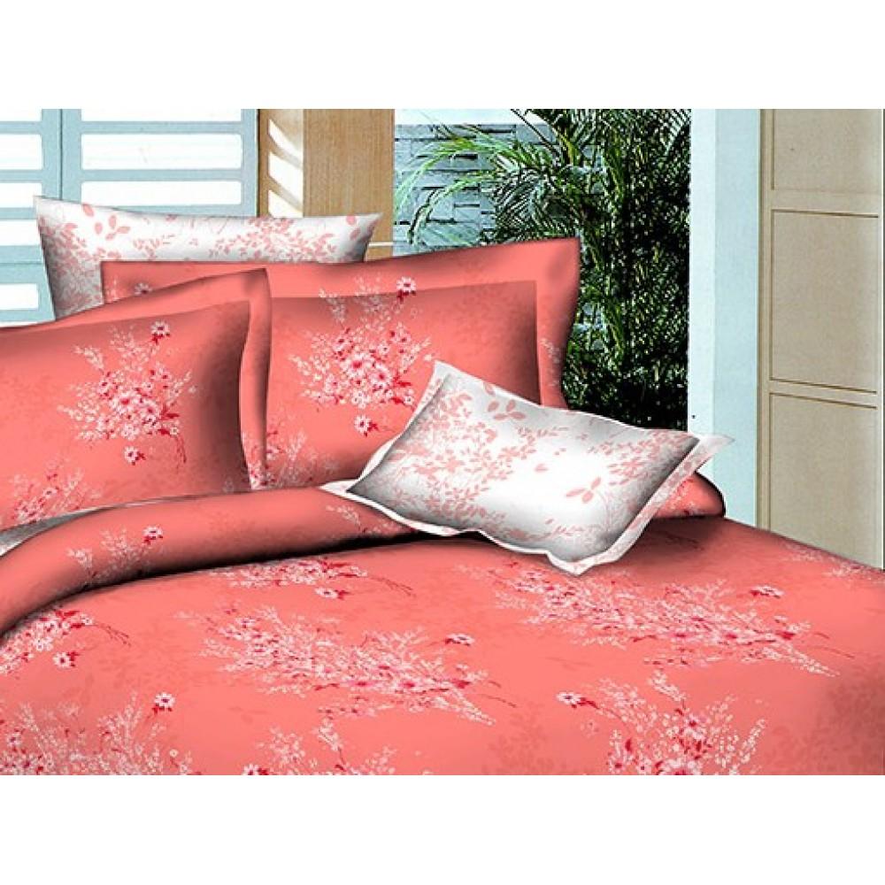 Комплект наволочек поплин SoundSleep Autumn bouquet L-1585-5 белый 70х70 см