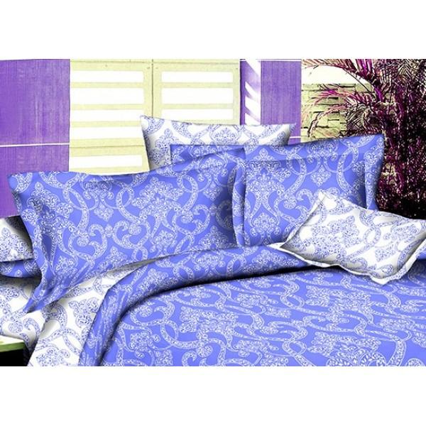Комплект наволочек Winter ornaments SoundSleep поплин 70х70 см голубой