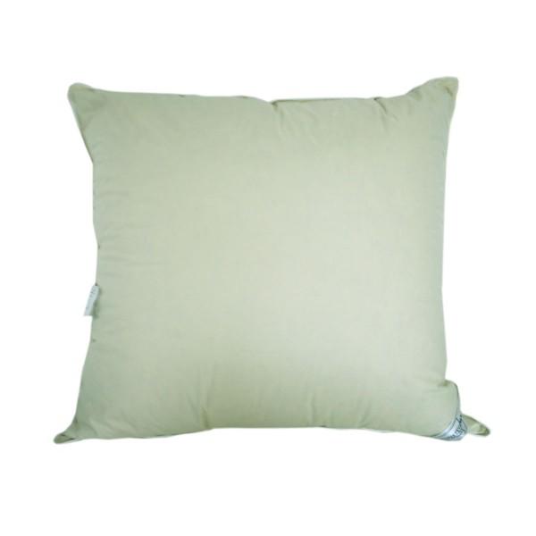 Подушка 10% пуха SoundSleep Sleep and Go оливковая 70х70 см