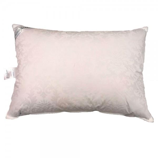 Подушка из белого пуха в жаккардовом чехле Сloud SoundSleep 70% пуха 50х70 см