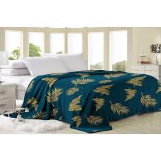 Fleece blanket SoundSleep Amazonia green 150x210 cm