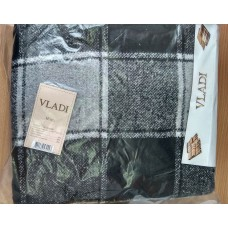 Plaid Vlad Palermo №4 140x200 cm white-gray-black