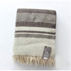 Plaid Vladi Montreal 1 woolen 140x200 cm beige-brown-light brown