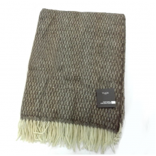 Plaid Vladi Morel woolen 140x200 cm cor-sv. cor-white