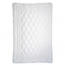 Blanket Slavic fluff Kaschmir half-woolen winter quilted white 142x205 cm 1700g