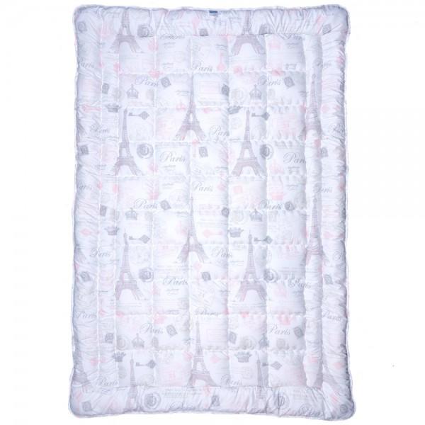 Одеяло Славянский пух Paris антиаллергенное зимнее стеганое 150х210 см 1300г