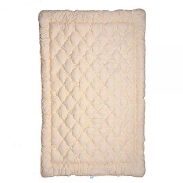 Одеяло Славянский пух Люс полушерстяное зимнее стеганое 142х205 см 1400г