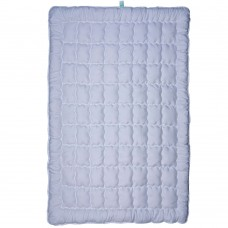Одеяло Славянский пух Coluor Biovital антиаллергенное зимнее стеганое White 142х205 см 1250г