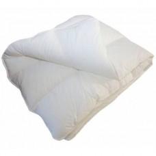 Одеяло Славянский пух Экофайбер антиаллергенное зимнее стеганое White 142х205 см 1200г