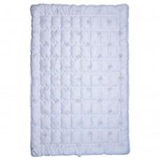 Одеяло Славянский пух Лебяжий Пух антиаллергенное зимнее стеганое White 110х140 см 600г