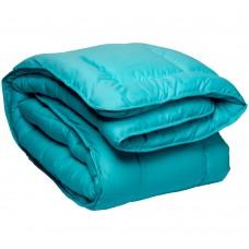 Одеяло Славянский пух Coluor Therapy антиаллергенное зимнее стеганое голубое 200х220 см 1900г