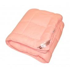Одеяло Славянский пух Coluor Therapy антиаллергенное зимнее стеганое розовое 142х205 см 1300г