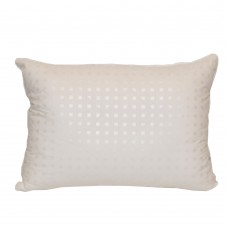 Pillow Slavic fluff Kaschmir white wool 50x70 cm