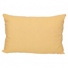 Pillow Slavic fluff Luxe half-woolen quilted yellow 50x70 cm 700g