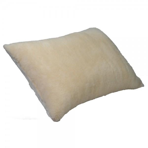 Подушка Славянский пух Руно антиаллергенная меховая 50х70 см кремовая
