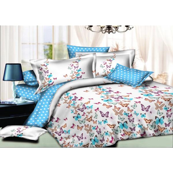 Комплект постельного белья SoundSleep Butterfly ранфорс подростковый