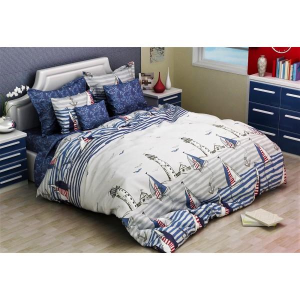 Комплект постельного белья SoundSleep Blue Sail полуторный