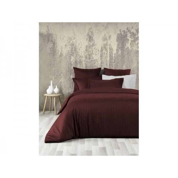 Комплект постельного белья SoundSleep Line сатин-жаккард евро Bordo
