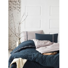 Bed linen SoundSleep Stonewash DoubleFace Euro blue