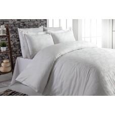 Комплект постельного белья SoundSleep Сатин-жаккард евро Yarak White
