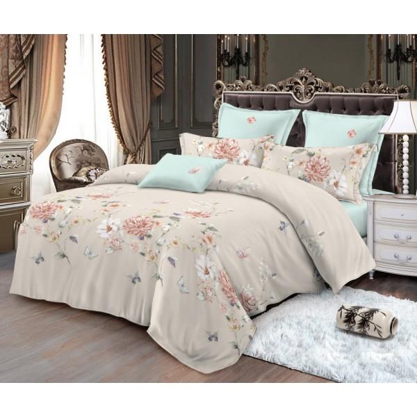 Комплект постельного белья Allasio SoundSleep Сатин семейный
