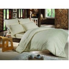 Комплект постельного белья SoundSleep Bamboo сатин-жаккард евро crem