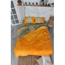 Bedding set Hand-made Autumn foliage SoundSleep linen euro
