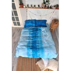 Bedding set Hand-made Blue sky SoundSleep linen euro
