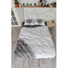 Комплект постельного белья ручного окрашивания Yin Yang SoundSleep ранфорс евро