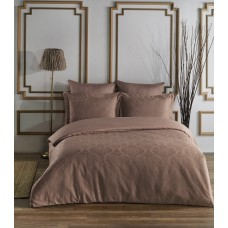 Bed linen set SoundSleep Damask Kahve Jacquard euro