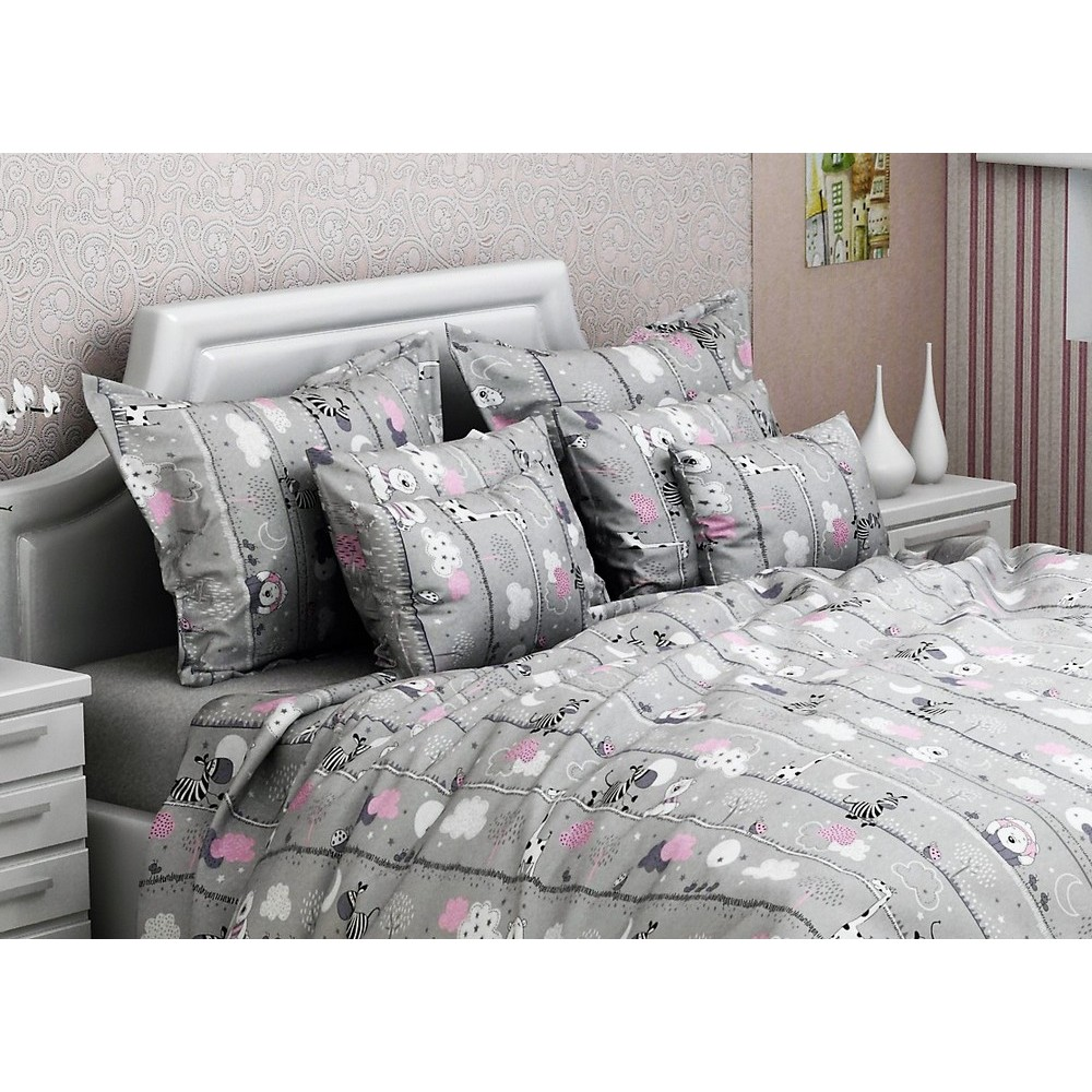 Комплект постельного белья SoundSleep Happy Friends бязь подростковый