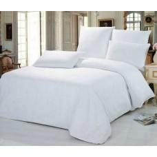 Комплект постельного белья SoundSleep отель сатин белый евро