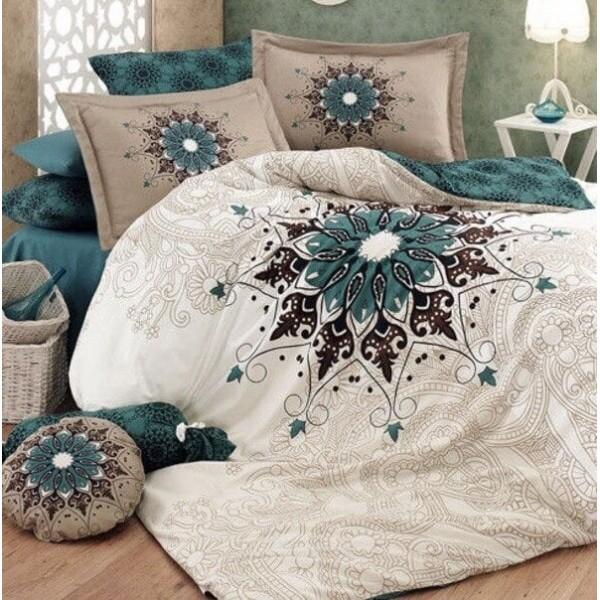 Комплект постельного белья SoundSleep Mandala ранфорс полуторный