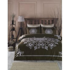 Bed linen set SoundSleep Mandala Brown Euro