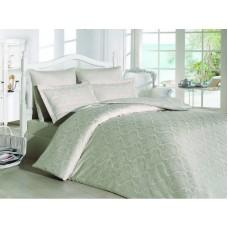 Комплект постельного белья SoundSleep Damask жаккард евро Stone