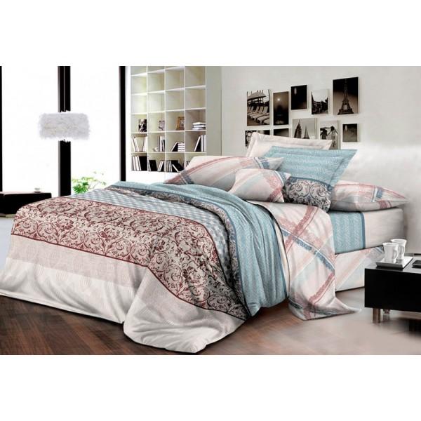 Комплект постельного белья SoundSleep Yanova поплин Евро R-3993