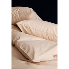 Простынь SoundSleep Dyed Beige ранфорс 160х220 см