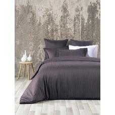 Bed linen set SoundSleep Exclusive Line Jacquard euro Anthracite