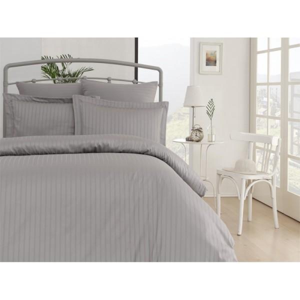 Комплект постельного белья SoundSleep Exclusive Line жаккард семейный серый