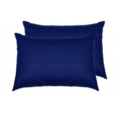 Комплект наволочек SoundSleep Dyed Dark blue ранфорс 50х70 см